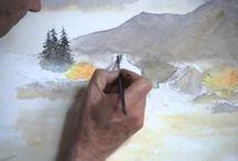 Vídeos de aquarela
