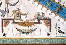 grotesque fresco