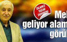Zeki ARSLAN: HALİFEMİ GELECEK MEHDİMİ.