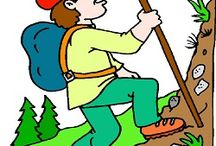 "Storytime Camping / Picture Books and activities for Storytime. See separate boards for nocturnal animals. ""I am going camping.           Time to pack...my tent, my bedroll, and a snack...."""