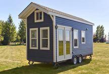 Tiny house . Små hus