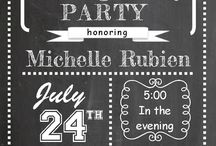Leaving Party Invites ♡