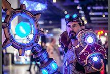 LED cosplay