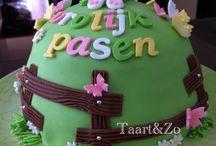 Pasen / Voorbeelden voor paastaartworkshop