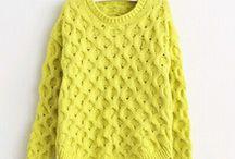 Blusa amarela retro