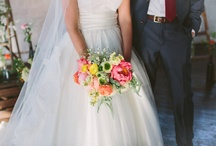 A Spring Wedding for Megan and Jeff / Local, sustainably grown flowers. / by Laughing Lady Flower Farm