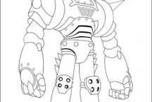 Astro Boy coloring book / Astro Boy coloring pages