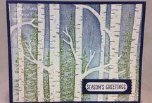 Woodlands embossed card video