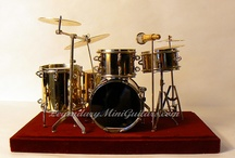Miniature Collectible Drums