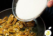 Caramelizar nueces