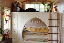 Cupboard platform bed