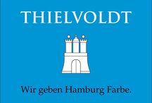 Unsere Marke / Seit 1899 steht der Name Thielvoldt in und um Hamburg für erstklassige Leistungen im Maler -und Lackierhandwerk.
