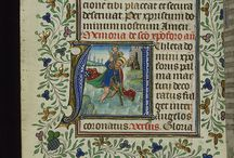 Medieval manuscripts and illumination