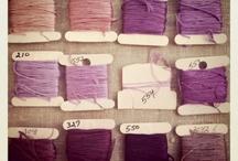 I love embroidery floss