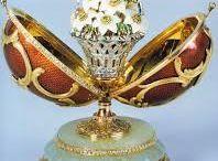 Faberge e outras belezas Faberge and other beauties / Ovos Faberge, jóias, caixas, relógios , jóias etc