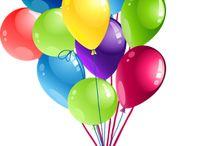 Birthday/ ballons