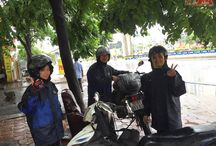 """ATA's Inspection Trip on Ho Chi Minh trail in 2016 / *Our trip named """"Taste of Ho Chi Minh trail"""" will last 4 days with the itinerary below: D1 – 3rd Aug: Ha noi - Mai Chau (150km) D2 – 4th Aug: Mai Chau - Tan Ky (250 km) D3 – 5th Aug: Tan Ky - Huong Khe (150km) D4 – 6th Aug: Huong Khe - Dong Hoi – Night train Hanoi (180 km). *Members: Sally, Candy & Cuong; Guide: Hoa Le *Motorbike used: - 01 Yamaha XTZ 125 - 01 Exciter 125CC * Other amazing motorcycling routes on Ho Chi Minh trail: - Half Challenge - Complete Challenge"""
