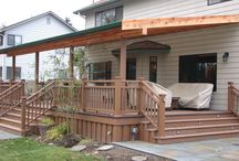 deck decor / How to decorate your deck or patio