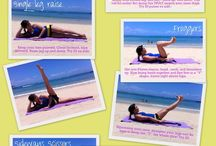 Better health / Exercises and healthy ideas  / by Laura Jane Smith (Godfrey)