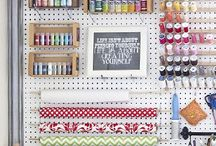 Craft room & storage ideas