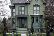 домики (Old Homes-Victorian)