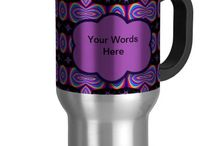 Colorful Kitchen items / Stuff for your kitchen, mugs, placemats, cookie jars, placemats and more