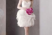 Cocktail & Tea length wedding dresses / Tea length and cocktail length wedding dresses, bridal dresses