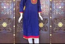 Designer Cotton Kurtis Collection-1