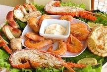 Recetas de pescados y mariscos / Si te gustan los pescados y mariscos y quieres unas buenas recetas, éste es tu tablero.