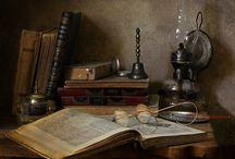 oil lamp..