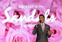 "Say ""I Do"" to Sandals Event / by WeddingMoons"