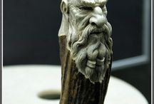 carved handle