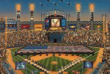 White Sox + Art + Design / by S. Preston Art + Designs