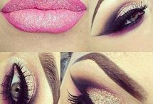 Nails#lips#eyes