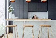 Kitchens / Beautiful kitchen designs and style for the home