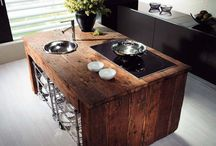 Kitchen Ideas / My Top 40 Kitchen Ideas from storage space, colors, gadgets and layouts.
