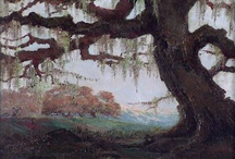 6 painting landscapes