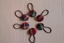 Gomas del Pelo / Coleteros / Hair Bands / Todo tipo de gomas del pelo hechas a mano / All type of hair bands / Hand made / by Ruca, la casa de los complementos la casa de los complementos