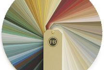 Farrow and Ball / A selection of Farrow and Ball colours