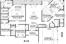 Floor Plans / by Courtney Fuhr