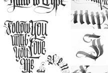 Typography orgasm