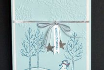 Stampin Up Holiday Cards / Holiday Stampin Up Cards