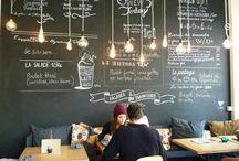 cafe lighting