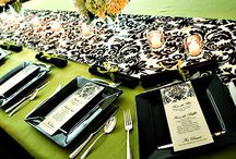 Damask Wedding Ideas / by Wiregrass Weddings