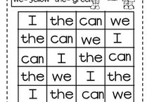 phonics, cvc and sight words