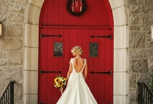 Turquoise & Red wedding ideas