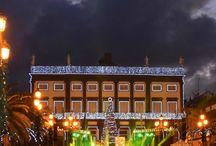 Luces de ciudad / Luces de Navidad en LPGC