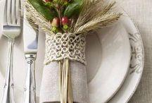 decorazioni con tovaglioli