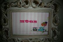 Baykuş Temalı ücretsiz parti seti _ Owl themed free party kits / Kız çocuklarının doğumgününü renklendirecek cici baykuş konspeti