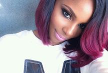 ombre haire